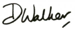 Dr Walker signature
