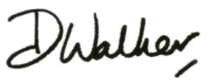 Dr Walker signature