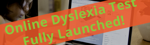 New QuickScreen Online Dyslexia Test officially launched in January 2017